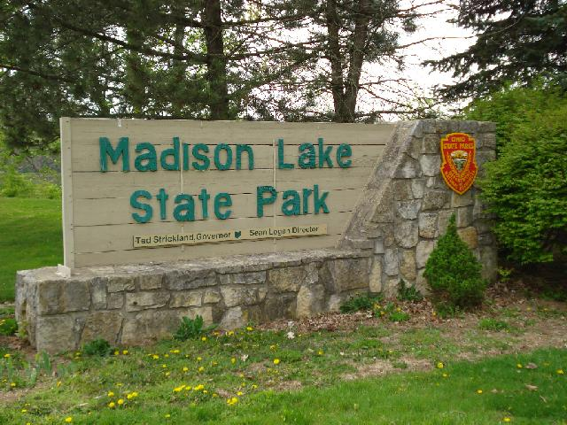 Madison Lake Sign