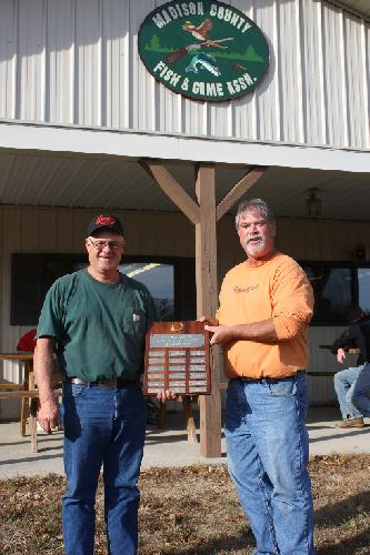 2010 Madison County Fish & Game Club Champion Tom Cecil