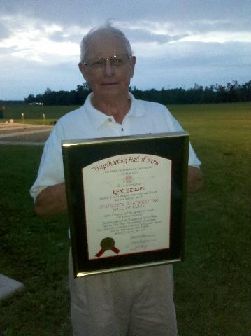 Ken Berger 2011 Ohio State Trapshooting Hall Of Fame Inductee